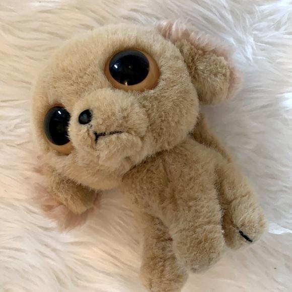 2000s plush big eye puppy dog plush